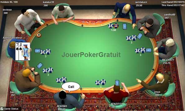 Jouer poker gratuit sans telechargement