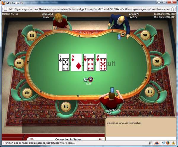 Telecharger jeux de poker en ligne gratuit