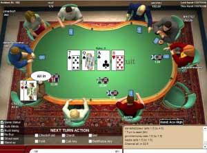 c'est quoi tapis au poker
